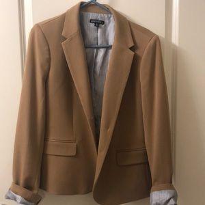 J. Crew camel tan lined blazer size 12
